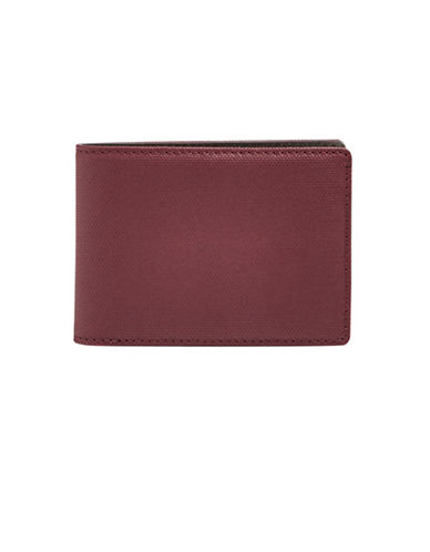 Skagen Slim Bi-Fold Wallet-BROWN-One Size