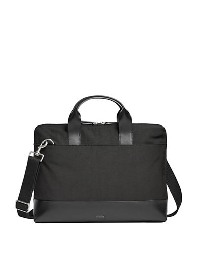 Skagen Peder Slim Briefcase-BLACK-One Size