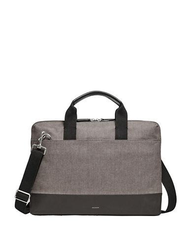 Skagen Peder Slim Briefcase-GREY-One Size