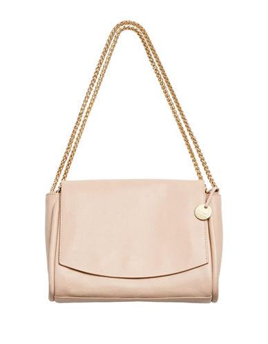 Skagen Sylvi Leather Crossbody Bag-BEIGE-One Size