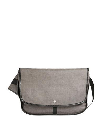 Skagen Mikael Courier Messenger Bag-GREY-One Size