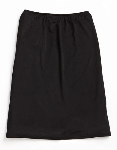 Jones New York Anti-Cling Half Slip-BLACK-Medium