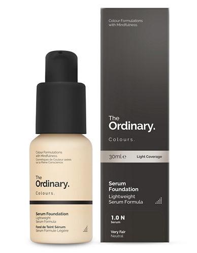 The Ordinary Serum Foundation-1.0 N-30 ml