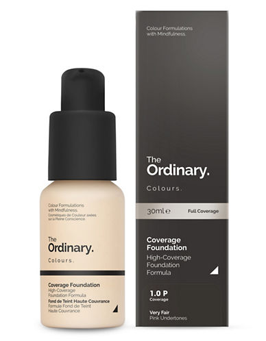 The Ordinary Coverage Foundation-1.0 P-30 ml