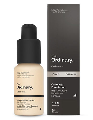 The Ordinary Coverage Foundation-1.1 N-30 ml