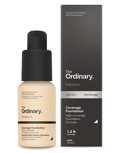 The Ordinary Coverage Foundation-1.2 N-30 ml