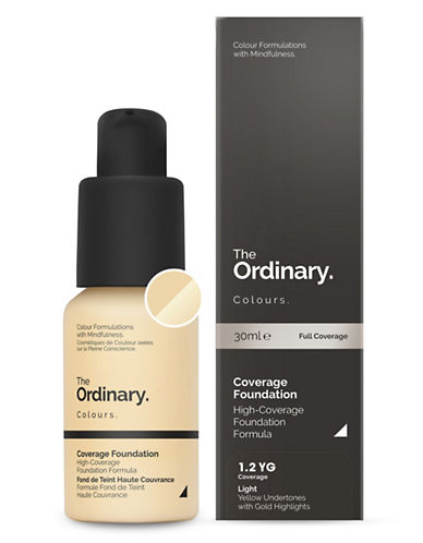 The Ordinary Coverage Foundation-1.2 YG-30 ml