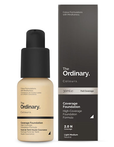 The Ordinary Coverage Foundation-2.0 N-30 ml