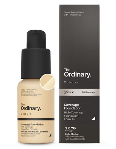 The Ordinary Coverage Foundation-2.0 YG-30 ml
