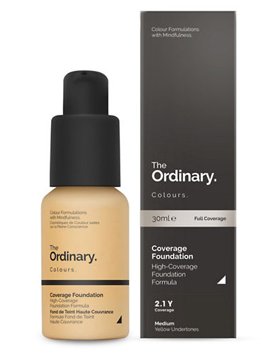 The Ordinary Coverage Foundation-2.1 Y-30 ml