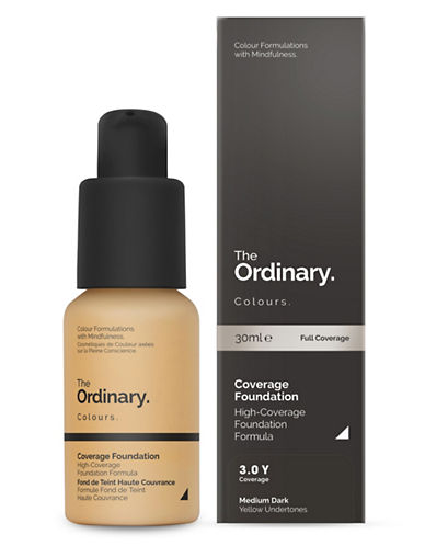 The Ordinary Coverage Foundation-3.0 Y-30 ml