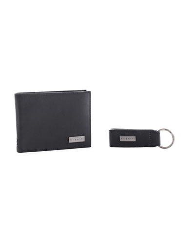 Bugatti RFID Leather Billfold Wallet-BLACK-One Size