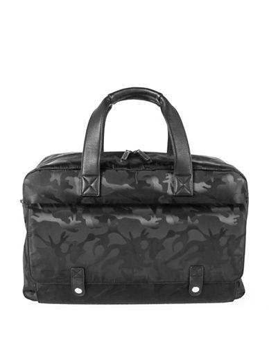 Bugatti Brigade Camo Weekender Bag-BLACK-One Size
