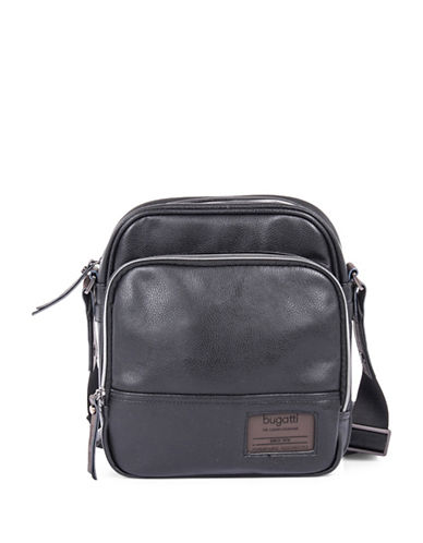 Bugatti Moto-D Crossbody Bag-BLACK-One Size