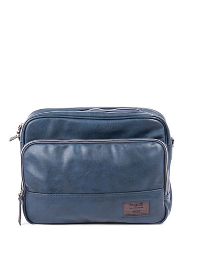 Bugatti Moto-D Crossbody Bag-BLUE-One Size