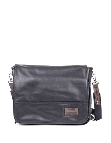 Bugatti Moto-D Messenger Bag-BLACK-One Size