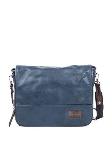 Bugatti Moto-D Messenger Bag-BLUE-One Size