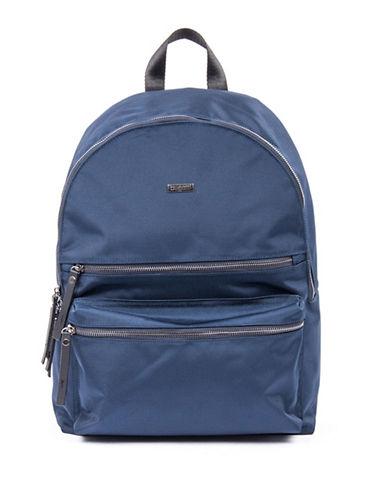 Bugatti Contratempo Medium Nylon Backpack-BLUE-One Size