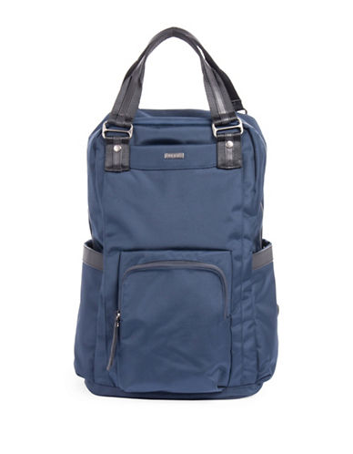 Bugatti Contratempo Large Nylon Backpack-BLUE-One Size