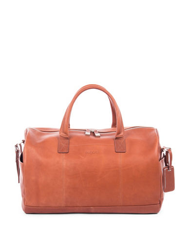 Bugatti Sartoria Leather Sport Bag-COGNAC-One Size