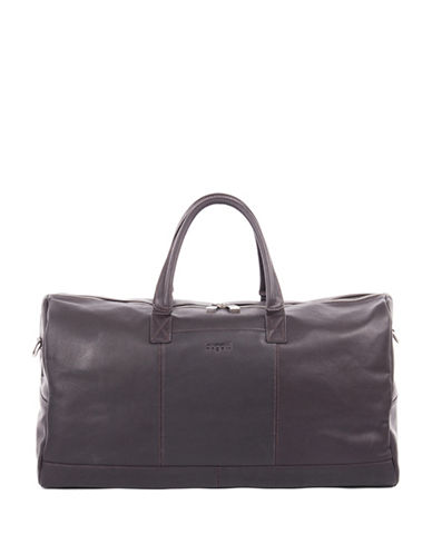 Bugatti Sartoria Leather Sport Bag-BROWN-One Size