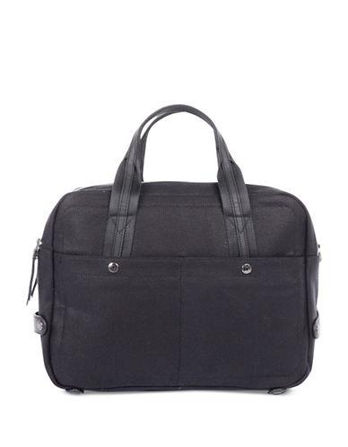 Bugatti Lino Zip Business Bag-BLACK-One Size