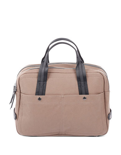 Bugatti Lino Zip Business Bag-SAND-One Size