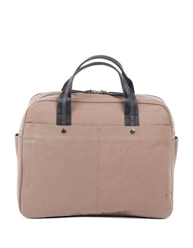 Bugatti Lino Large Zip Business Bag-SAND-One Size
