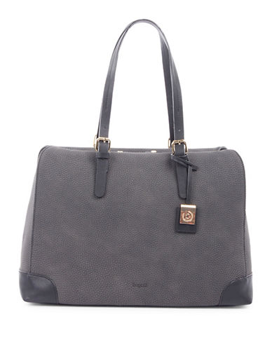 Bugatti Bilbao Textured Tote-GREY-One Size