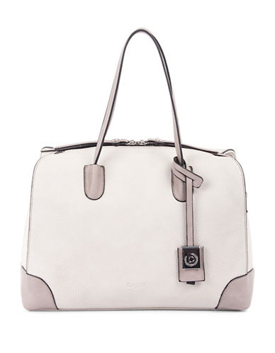 Bugatti Bilbao Textured Satchel-NATURAL-One Size