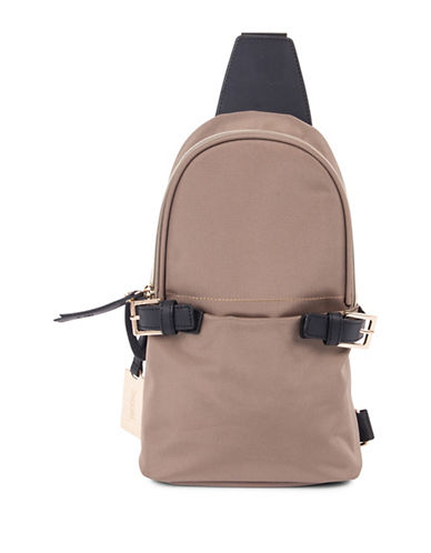 Bugatti Contratempo Sling Backpack-BEIGE-One Size