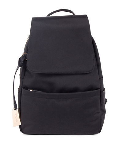 Bugatti Contratempo Small Nylon Backpack-BLACK-One Size