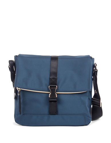 Bugatti Nylon Crossbody Bag-BLUE-One Size