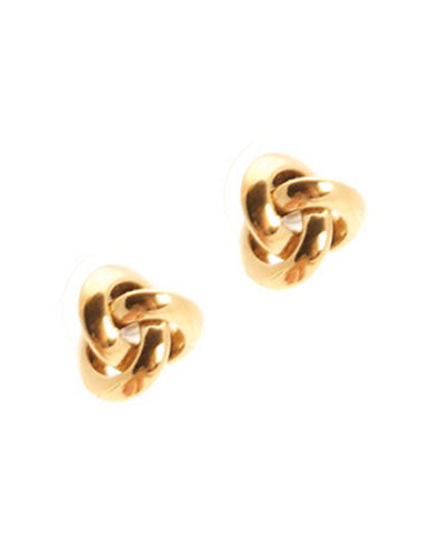Jones New York Small Knot Earring-GOLD-One Size