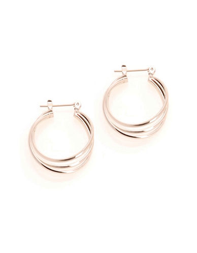 Jones New York 3 Ring Hinged Hoop-SILVER-One Size