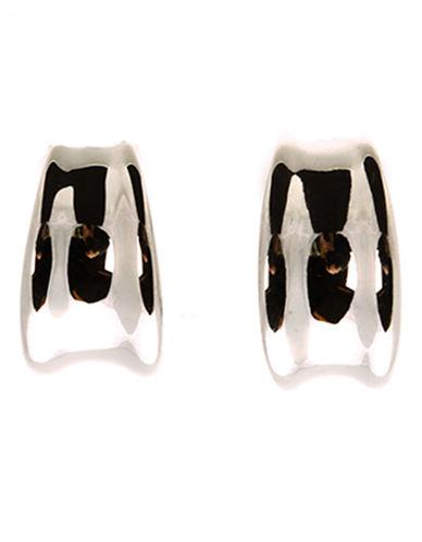 Jones New York Half Hoop Clip Earring-SILVER-One Size