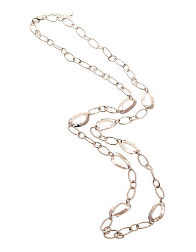 Jones New York Long Neck With Hammered Castings-SILVER-One Size