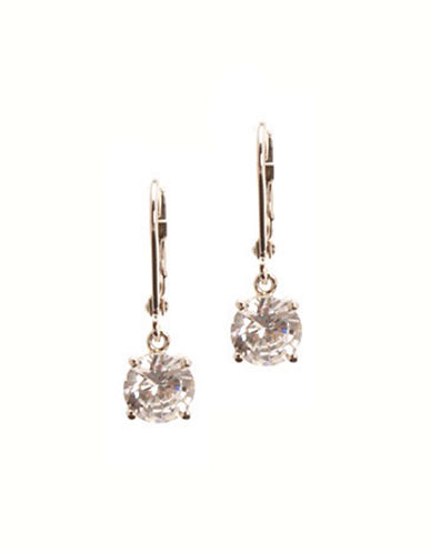 Jones New York Drip Crystal Earrings-CRYSTAL-One Size