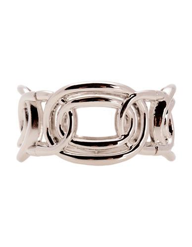 Jones New York Open Link Stretch Bracelet-SILVER-One Size