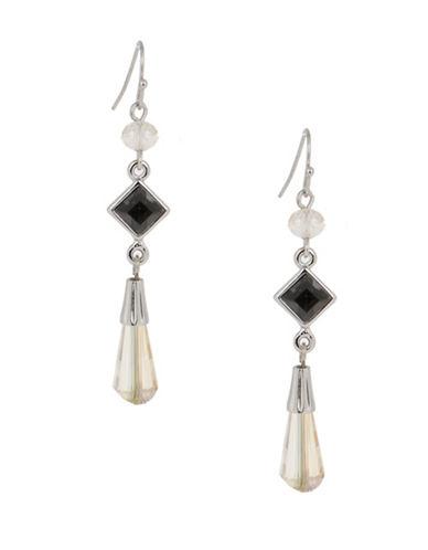 Jones New York Mixed Linear Drop Earrings-MULTI-One Size