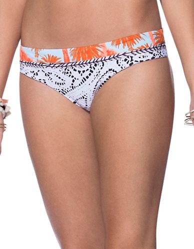 Maaji Frenzie Selfie Reversible Bikini Bottom-MULTI-Medium