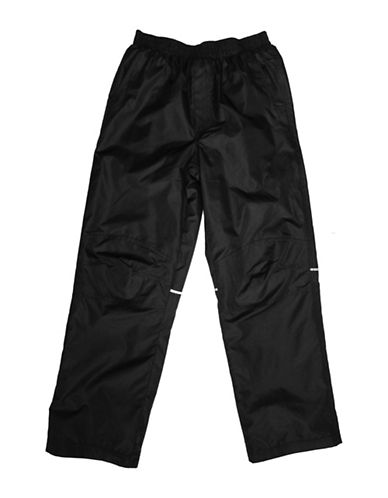 West Coast Connection Girls Fleece-Lined Snowpants-BLACK-5