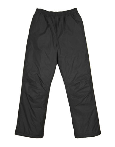 West Coast Connection Pongee Snowpants with Storm Cuff-BLACK-Large