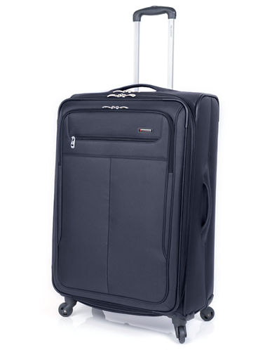 Ricardo Beverly Hills Legacy 28 inch 2 Compartment Spinner-CHARCOAL-28