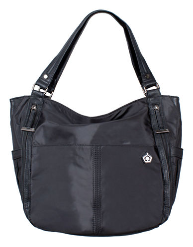 Kbg Fashion Convertible Yoga Tote Backpack-BLACK-One Size