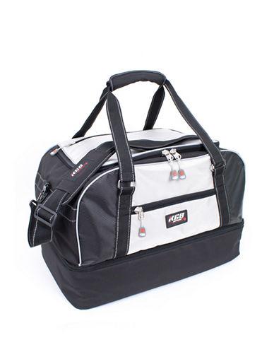 Kgb Drop Bottom Duffle Ski Bag-SILVER-One Size