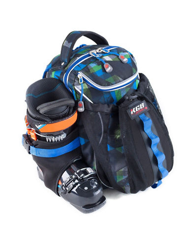 Kgb Junior Ski Boot Bag-BLUE-One Size