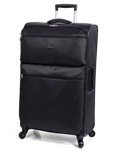 Skyway Bridgeport LP 28 Inch Spinner Suitcase-BLACK-28