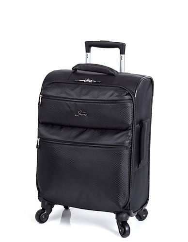 Skyway Bridgeport LP 19 Inch Spinner Suitcase-BLACK-19