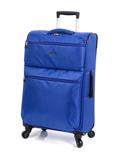 Skyway Bridgeport LP 24 Inch Spinner Suitcase-BLUE-24